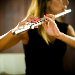 Flute guitar duo wedding